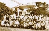 昭和38年 都立農業高校林間学校